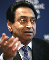 Kamal Nath, Minister of Commerce and Industry for India