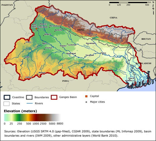 ganges river pollution chart - photo #36