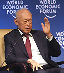 Lee Kuan-Yew, Minister Mentor, Singapore