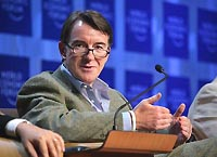 Peter Mandelson, Commissioner, Trade, European Commission
