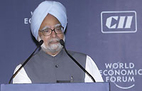Prime Minister Manmohan Singh of India