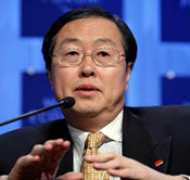 Zhou Xiaochuan, Governor, People's Bank of China
